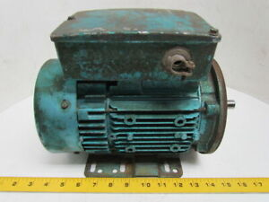 Leroy Somer D485 1 2 Hp 1750rpm 115 230v 56c Frame Te Electric Motor 1 Ph