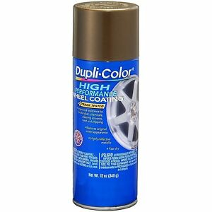 Duplicolor Hwp105 Bronze Wheel And Rim Spray Paint Aerosol 11oz
