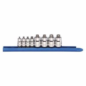Gearwrench 8pc Stubby Metric Hex Bit Socket Set With Rail 3 10mm 80281