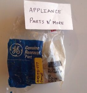 New Ge Range 5 Position Rotary Switch Asr173 477 Free Shipping