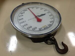 Used Chatillon Scale Cap 600 X 1 2lb 4f