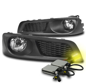 Front Bumper Chrome Driving Fog Lights Lamp W 3k Xenon Hid For 2010 2012 Legacy