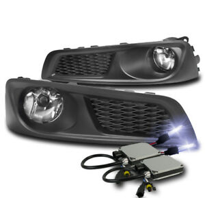 Front Bumper Chrome Driving Fog Lights Lamp 10k Xenon Hid For 2010 2012 Legacy