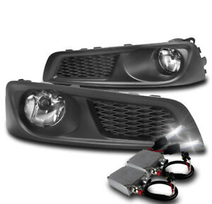 Front Bumper Chrome Driving Fog Lights 50w 6000k Xenon Hid For 2010 2012 Legacy