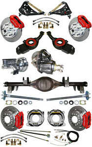 New Suspension Wilwood Brake Set currie Rear End control Arms posi Gear 697032