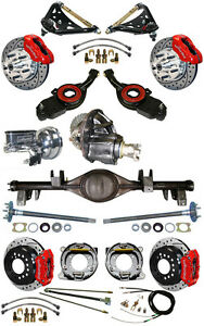 New Suspension Wilwood Brake Set Currie Rear End Control Arms Posi Gear 697034