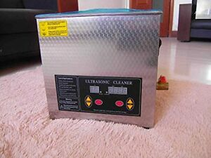 Flexzion Commercial Ultrasonic Cleaner 2l Large Capacity Stainless Steel With He