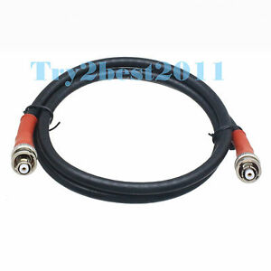 Rpbnc To Rp bnc Male 5kv Shv High Voltage Nim Coaxial Connector 75 5 Cable 6ft