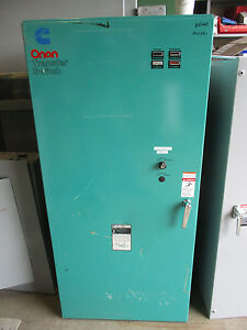 Onan 600 Amp 277 480 Volt 3 Phase Automatic Transfer Switch Ats241