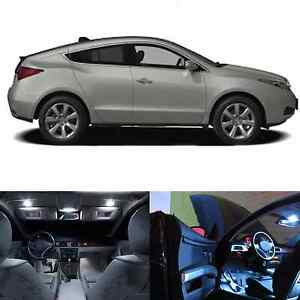 Led White Dome Trunk License Plate Package Kit For Acura Zdx 2010 2012