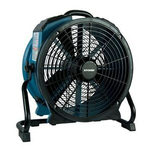 Xpower X 47atr Industrial Sealed Motor Axial Fan Air Mover W Power Outlet Timer