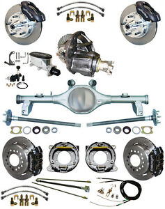 New Suspension Wilwood Brake Set Currie Rear End Posi Trac Gear 78 88 Gm Black