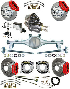 New Suspension Wilwood Brake Set Currie Rear End Posi Trac Gear 78 88 Gm Red