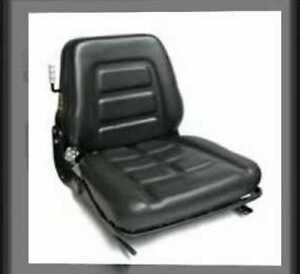 Bobcat Vinyl Forklift Suspension Seat With Safety Switch