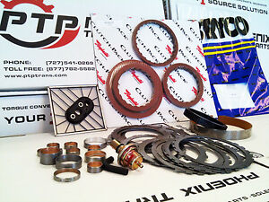 Turbo Th350 Transmission Hi Performance Rebuild Kit 69 79 Chevy