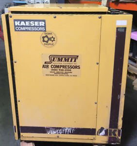 Kaeser Sk19 Rotary Screw Air Compressor 64 Cfm 15 Hp 3 Ph