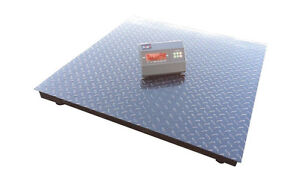 Floor Scale Heavy Duty Platform Scale 60 x60 indicator 10000 X1 Lb brand New