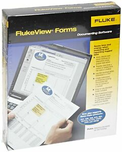 Fluke Fvf basic Flukeview Forms Basic Software With Cable For 280 Series 180 Se