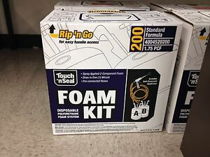 Touch n Seal U2 200 Spray Closed Cell Foam Insulation Kit 200bf
