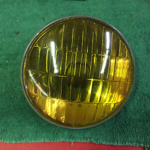 Corcoran Brown 6 Volt Replacement Fog Driving Light Steel Back Bulb