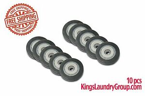 10 Pcs Dryer Roller For Huebsch speed Queen wascomat m430019 free Shipping