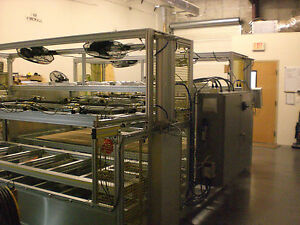 Sibe Automation Vacuum Forming Machine 36 X 96 2 Station Top Bottom Heaters