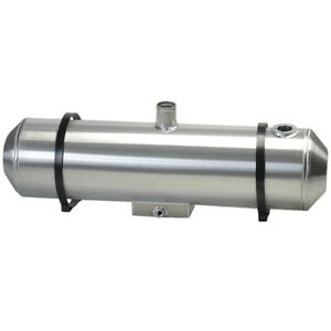 10x33 Spun Aluminum Gas Tank With Sump Remote Filler Neck And Sender Flange