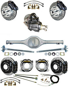 New Suspension Wilwood Brake Set Currie Rear End Posi Trac Gear Booster 717313