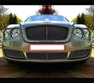 Bentley Continental Flying Spur 4d Front Lower Mesh Bumper Grille Grill 05 09