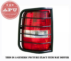Apu 1998 2001 Ford Explorer Black Tail Light Guards Protector Set