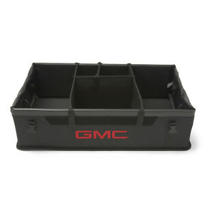 2010 2017 Gmc Gm Oem Cargo Organizer Black W Red Logo New 19202576