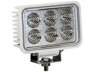 Buyers Products 1493218 Recessed Clear Led Spot Light 12 24v White Housing