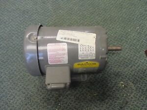 Baldor Industrial Motor M3541 75hp 3450rpm 230 460v 2 6 1 3a New Surplus