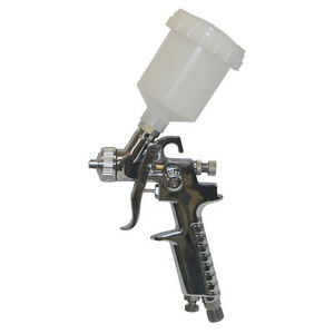 Scratch Doctor Hvlp Mini Spray Gun 0 8mm Air Gravity Feed Paint Alloys Etc