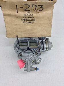 Nos Holley 5200 Carburetor List R 7012 D3pe Aa 1973 Ford Pinto 2 0l