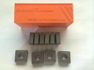 Carboloy Snmg 644 E 48 060 157123 Lathe Carbide 10 Inserts Metal Cutting Tools