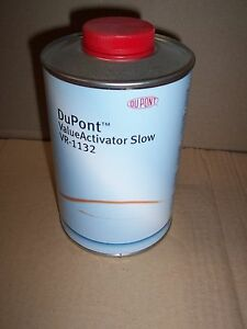 Dupont 2k Value Activator Vr 1132 1 Litre 2k Hardener Slow Catalyst