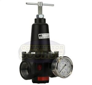 New 75 3 4 Inline Compressed Air Compressor Line High Flow Regulator Valve