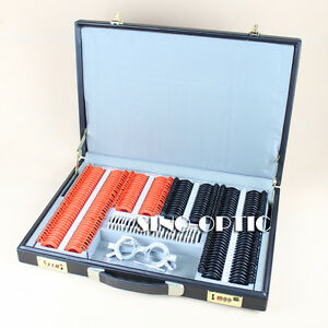 Spl232b Trial Lens Set Leather Case Plastic Rim Free Trial Frame