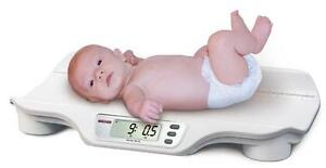 Rice Lake Rl dbs Digital Baby Infant Scale 44 Lb X 0 5 Oz Ac Adapter Brand New