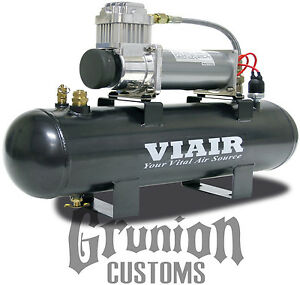 Viair 200 Psi Fast Fill Air Source Kit 380c Compressor 20007 W 2 Gallon Tank
