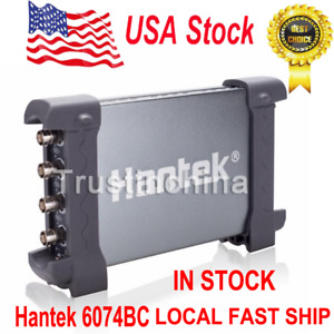 Hantek Pc Based 4 Channel Digital Storage Oscilloscope 6074bc 70mhz 1gsa s Fast