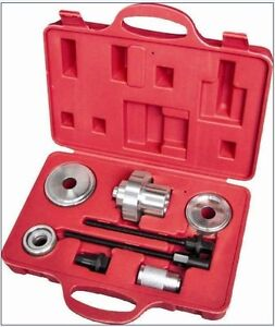8pc Rear Suspension Bush Extractor Tool Set Replac Axle Mounting Bushes Audi Vw