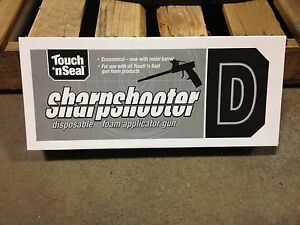Touch N Seal Sharpshooter D Foam Gun