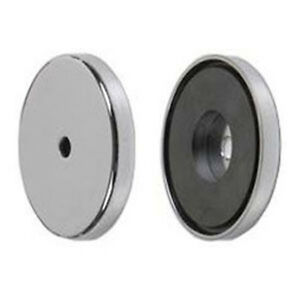 Ceramic Magnet Cup Assembly Magnetic Cup 100 Lb Pull Force 3 20 281 Hole