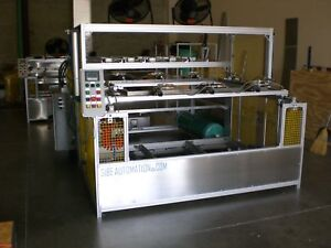 Sibe Automation Vacuum Former 48 X 60 Thermoformer Auto Pneumatic Clamping
