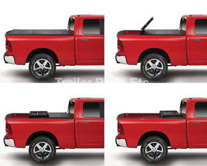 Tonno Tonneau Cover Trifold For 2007 2013 Chevy Chevrolet Silverado 6 6 Truckbed