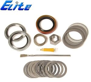 Gm 8 5 Chevy 10 Bolt Rearend Elite Gear Mini Install Seal Shim Kit