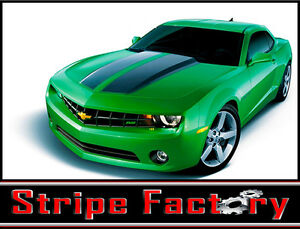 Chevy Camaro Ss Racing Stripe Factory Decal 2010 2011 2013