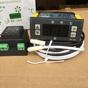 Digital Display Temperature Controller Electronic Temperature Regulator Thermost